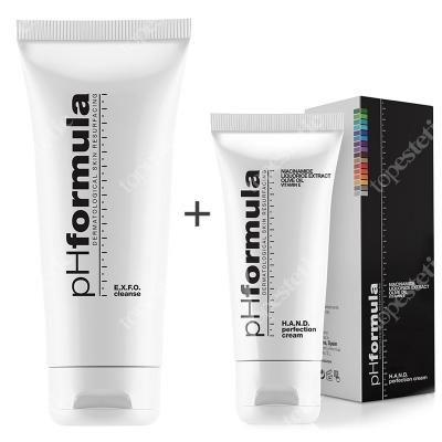 phFormula Hand Cream + EXFO Cleanse ZESTAW Intensywny krem do pielęgnacji dłoni 50 ml + Emulsja oczyszczająca 200 ml