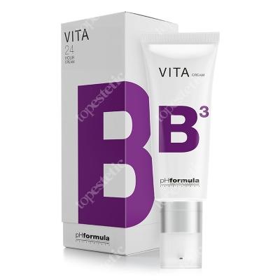 phFormula VITA B3 24h 24-godzinny krem nawilżający, łagodząco-przeciwnaczynkowy z 5% Niacyną 50 ml