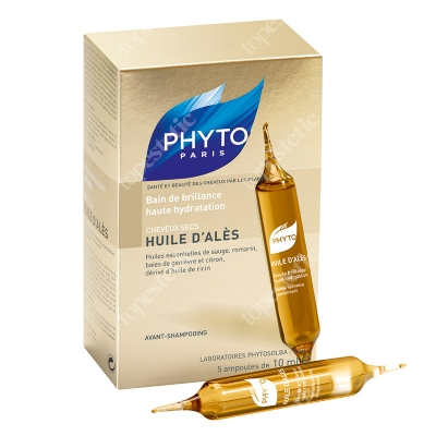 Phyto Huile D Ales Głęboko nawilżający olejek 5x10 ml