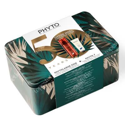 Phyto Phyto 7 & Phytolaque Soie ZESTAW Krem 50 ml + Spray utrwalający fryzurę100 ml