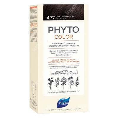 Phyto PhytoColor 4,77 Chatain Marron Profond Farba do włosów - kasztanowy brąz 50+50+12