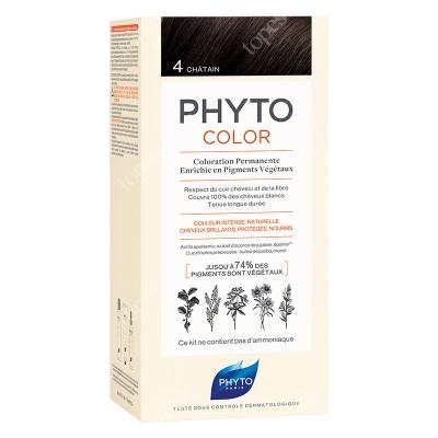 Phyto PhytoColor 4 Chatain Farba do włosów - kolor kasztan 50+50+12