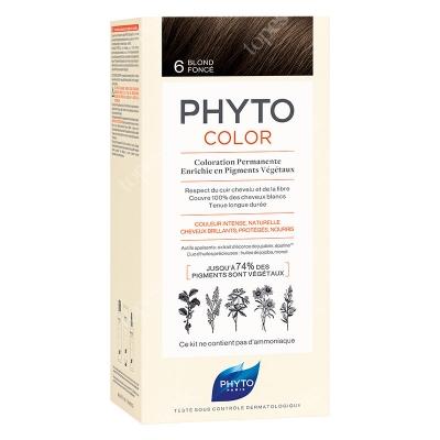Phyto PhytoColor 6 Blond Fonce Farba do włosów - ciemny blond 50+50+12