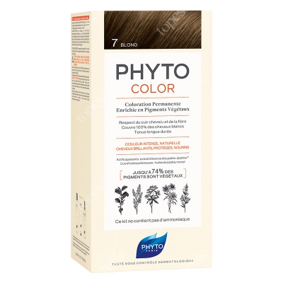 Phyto PhytoColor 7 Blond Farba do włosów - kolor blond 50+50+12