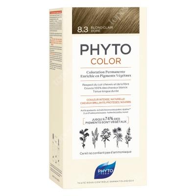 Phyto PhytoColor 8,3 Blond Clair Dore Farba do włosów - kolor jasny złoty blond 50+50+12