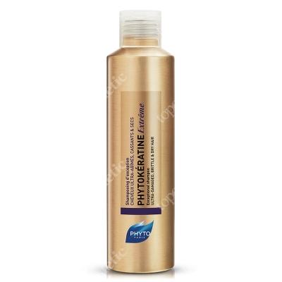 Phyto Phytokeratine Extreme Shampoo Keratynowy szampon odbudowujący 200 ml