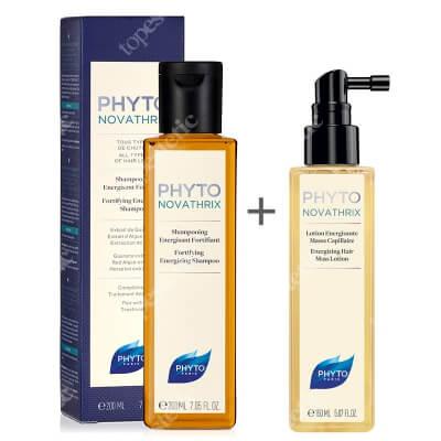 Phyto Phytonovatrix Set ZESTAW Szampon 200 ml + Lotion dodający włosom grubości 150 ml