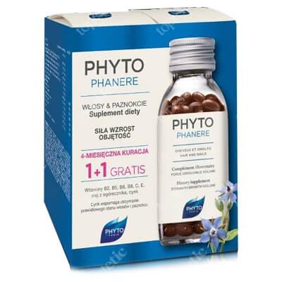Phyto Phytophanere DuoPack ZESTAW Kapsułki na włosy i paznokcie - Kuracja na 4 miesiące 2 x 120 szt