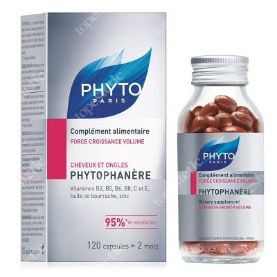 Phyto Phytophanere Kapsułki na włosy i paznokcie 120 szt.