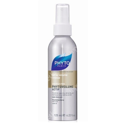 Phyto Phytovolume Actif Spray Spray nadający włosom objętość 125 ml