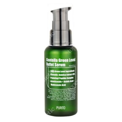 Purito Centella Green Level Buffet Serum Odżywcze serum do twarzy z 49% ekstraktem z Wąkrotki Azjatyckiej 60 ml