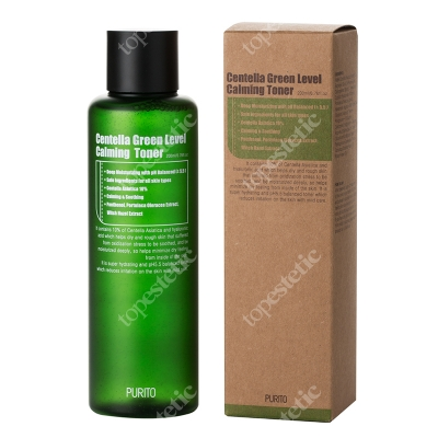 Purito Centella Green Level Calming Toner Toner wygładzający na bazie Wąkrotki Azjatyckiej 200 ml