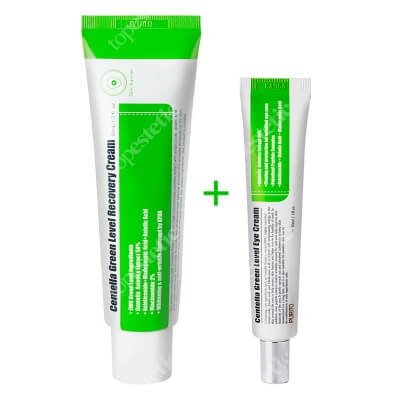 Purito Centella Green Level Set ZESTAW Krem pod oczy na bazie Wąkrotki Azjatyckiej 30 ml + Regenerujący krem z Wąkrotki Azjatyckiej 50 ml