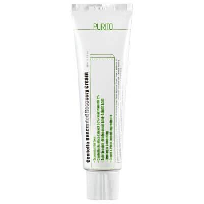 Purito Centella Unscented Recovery Cream Regenerujący krem na bazie wąkroty azjatyckiej (bezzapachowy) 50 ml