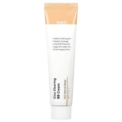 Purito Cica Clearing BB Cream Krem BB cica ( odcien 23 Naturalny beż ) 30 ml