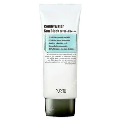 Purito Comfy Water Sun Block SPF 50 + PA ++++ Nawilżający krem przeciwsłoneczny SPF 50 + PA ++++ 60 ml