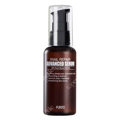 Purito Snail Repair Advanced Serum Serum regenerujące ze śluzem ślimaka 60 ml