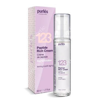 Purles 123 Peptide Rich Cream Odżywczy Krem Peptydowy 50 ml