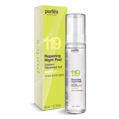 Purles 119 Repairing Night Peel Odnawiający krem eksfoliujący 50 ml