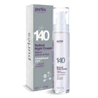 Purles 140 Retinol Night Cream 0,5% Krem z retinolem na noc 0,5% 50 ml