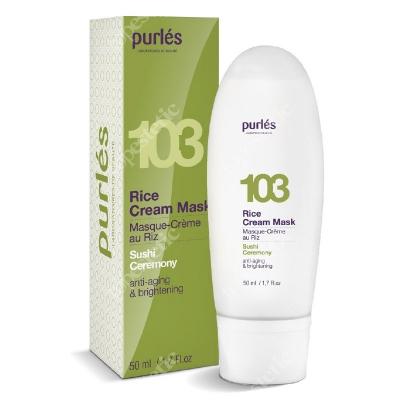Purles 103 Rice Cream Mask Kremowa maska ryżowa 50 ml