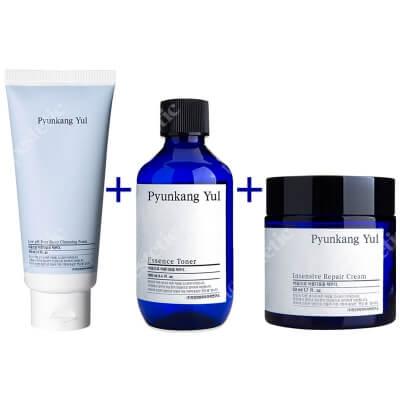 Pyunkang Yul Skin Set 20 ZESTAW Nawilżający krem 50 ml + Tonik nawilżający 100 ml + Pianka do mycia twarzy 40 ml