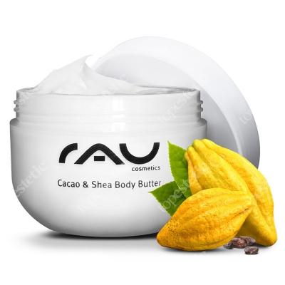 RAU Cosmetics Cacao & Shea Body Butter Cudownie miękka i aksamitna w dotyku skóra 200 ml