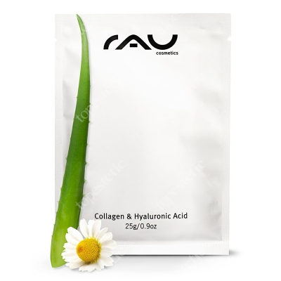 RAU Cosmetics Collagen & Hyaluronic Acid Mask Maska w płatach 25 g