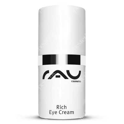 RAU Cosmetics Rich Eye Cream Bogaty krem pod oczy z aloesem 15 ml