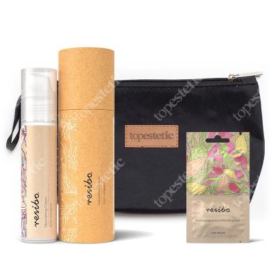 Resibo Exfoliating Mask + Nourishing Cream + Kosmetyczka ZESTAW Peeling do twarzy 2x5 ml + Krem odżywczy 50 ml + Kosmetyczka