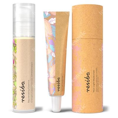 Resibo Rejuvenating Essence + Your Light Moisturizer ZESTAW Energetyzująca esencja odmładzająca 50 ml + Lekki krem nawilżający 50 ml