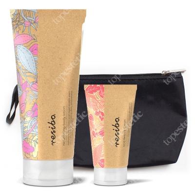 Resibo SOS Rescue Cream + Body Lotion + Kosmetyczka ZESTAW Krem ochronny 30 ml + Balsam do ciała 200 ml + Kosmetyczka