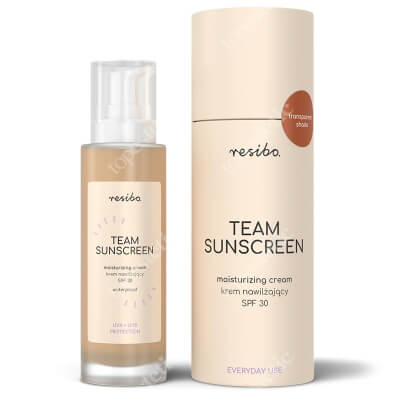 Resibo Team Sunscreen Krem nawilżający SPF30 50 ml