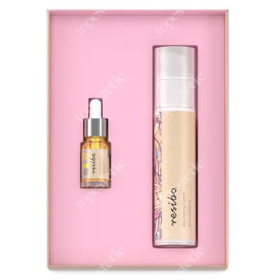 Resibo Younger Skin 2020 ZESTAW Krem odżywczy 50 ml + Serum wygładzające 5 ml