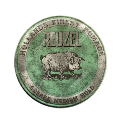 Reuzel Green Grease Medium Hold Pomada woskowa 113 g