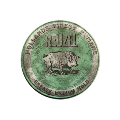 Reuzel Green Grease Medium Hold Pomada woskowa 35g