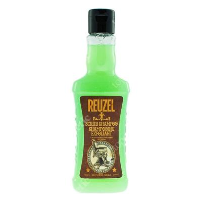 Reuzel Scrub Shampoo 350 ml Oczyszczający szampon do włosów 350 ml