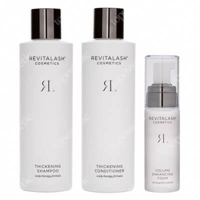 Revitalash Hair RevitaLash Set ZESTAW Szampon pogrubiający 250 ml + Zagęszczająca odżywka 250 ml + Odżywka stymulująca wzrost włosów 55 ml