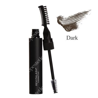 Revitalash Hi-def Tinted Brow Gel Dark Brown Wielozadaniowy stylizująco-koloryzujący żel do brwi - ciemnybrąz 7,4 ml