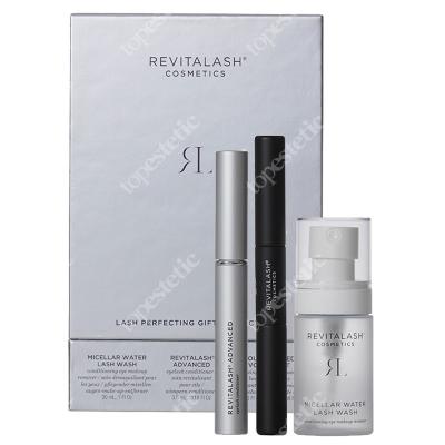 Revitalash Lash Perfecting Set 2019 ZESTAW Odżywka stymulująca wzrost rzęs 3,5 ml + Tusz i podkład 2w1 - 5 ml + Woda micelarna 30 ml
