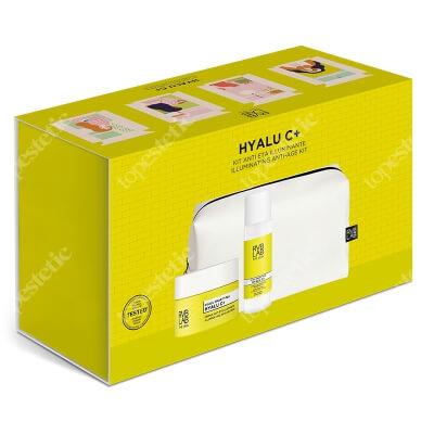 RVB LAB Make Up Hyalu C Set ZESTAW Rozświetlający krem przeciwstarzeniowy 50 ml + Rozświetlający tonik 100 ml