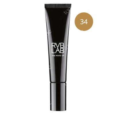 RVB LAB Make Up Illuminating Light Foundation 34 Lekki podkład rozświetlający (nr 34) 30 ml