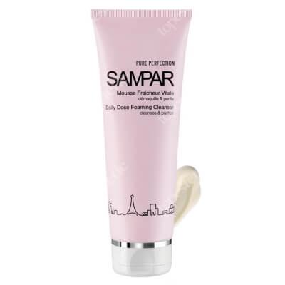 Sampar Daily Dose Foaming Cleanser Pianka do demakijażu i mycia twarzy, cera mieszana i tłusta 125 ml