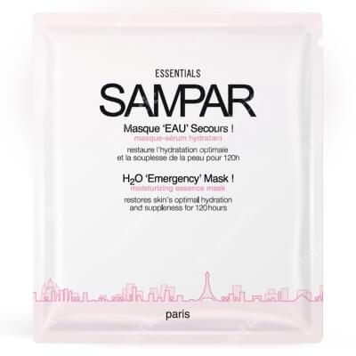 Sampar H20 Emergency Mask Nawilżająca maska - serum 1 szt.