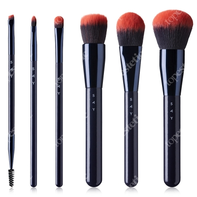 Say Make Up Start Basic Brush ZESTAW Podstawowy 6 pędzli nr 1,2,5,8,9,11