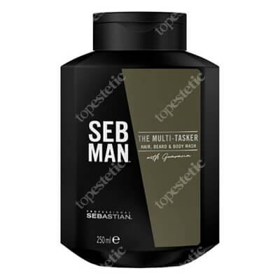 Sebastian Professional The Muli-Tasker Szampon 3w1 do włosów, zarostu i ciała 250 ml