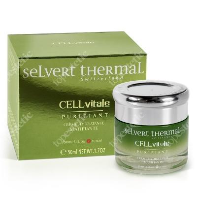 Selvert Thermal Anti Shine Hydrating And Mattifying Cream Krem nawilżający 50 ml