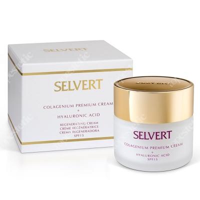 Selvert Thermal Colagenium Premium Cream + Hialuronic Acid Regenerujący krem z kwasem hialuronowym 50 ml