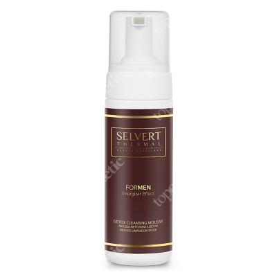 Selvert Thermal Detox Cleansing Mousse Pianka detoksykująca 150 ml