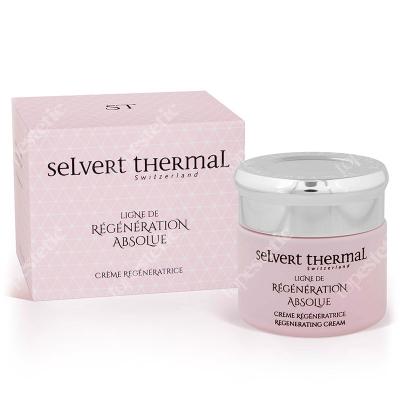 Selvert Thermal Regenerating Cream With Snail Protein Extract Krem regenerujący z wyciągiem z białka ślimaka 50 ml